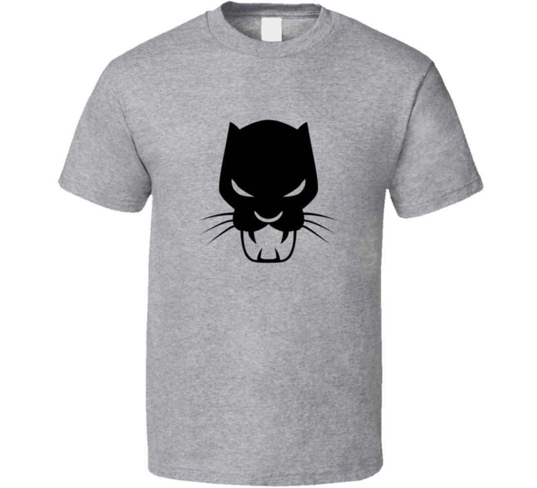 ed2125ef Black Panther Symbol Marvel T Shirt Quality T Shirts Men Printing Short  Sleeve O Neck Tshirt Cool Tee Funny Graphic T Shirts From Amesion04ljl, ...