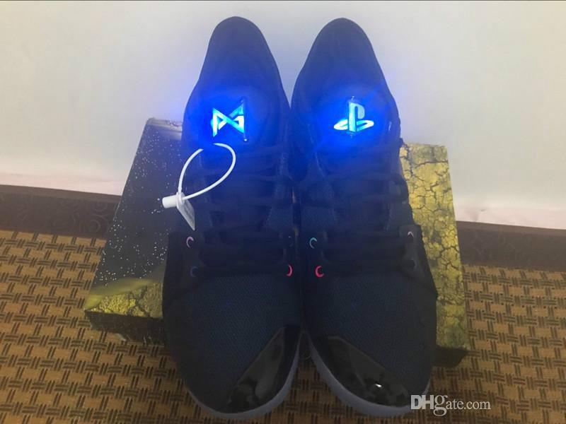 first rate 33b5d cb1fd wholesale Paul George PG 2 II Basketball Shoes PG2 PlayStation All-Star  Taurus March Madness Luminous Tongue Sports Sneakers Outdoor Shoes