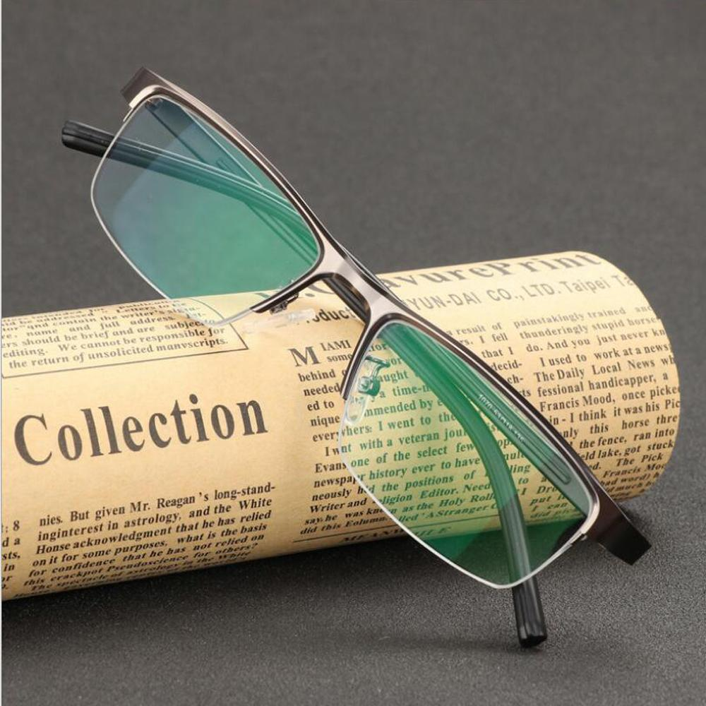 transition photochromic reading glasses pocket reader metal frame with case farsighted uv400 sunglasses 10 to 40 white reading glasses wide frame - Wide Frame Reading Glasses