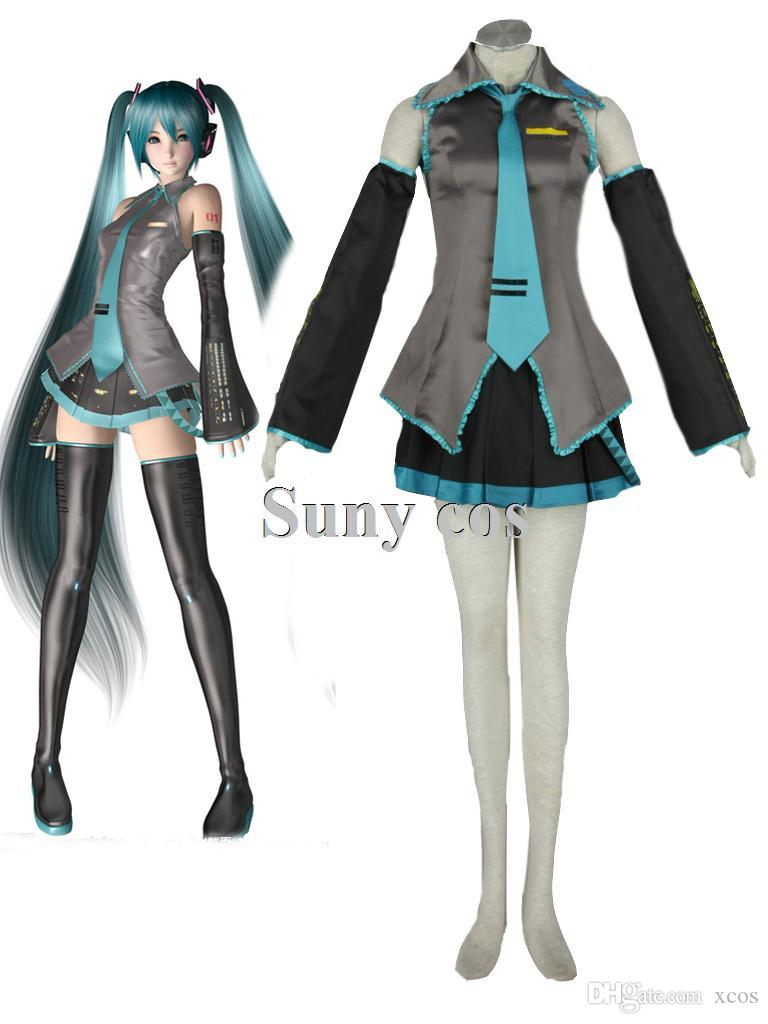 Costume cosplay Vocaloid Hatsune Miku 02