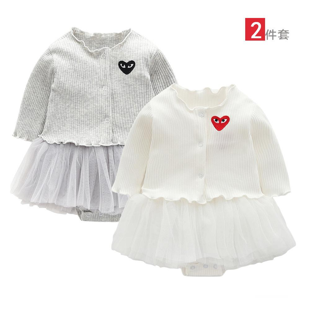 abaf7e6b8b6 New Pattern Kids Clothing Twinset Vest Short Skirt And Cardigan 0-12 ...