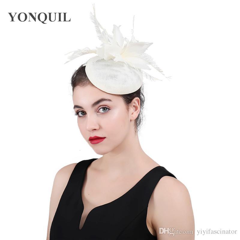 Cheap Bridesmaid Fascinators Discount Wedding Fascinator Headpieces Free  Shipping 4fe28d007045