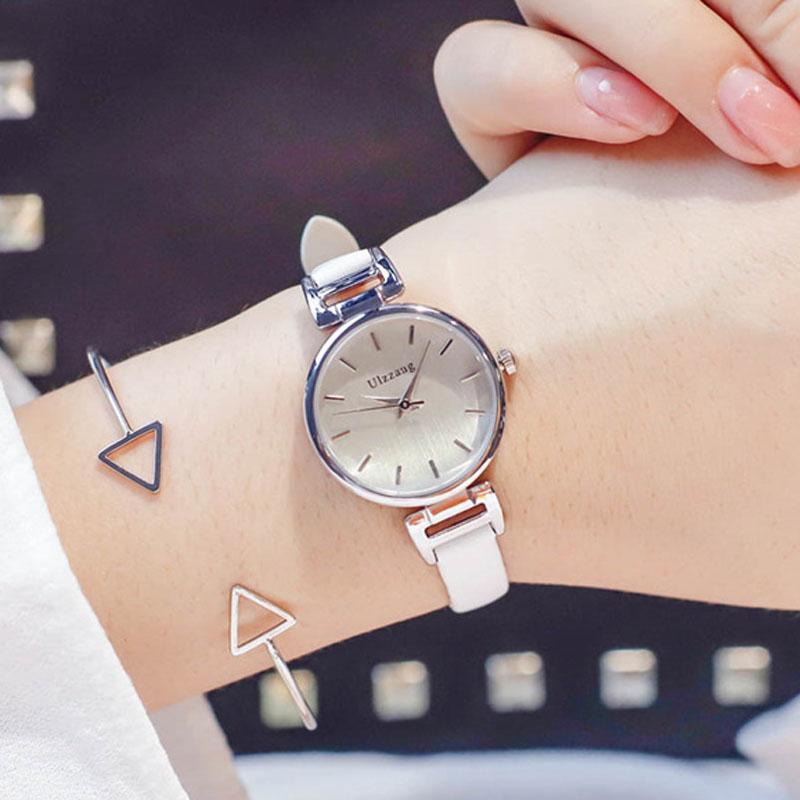 e4b0239ae7d3 Compre Exquisito Reloj De Pulsera Para Mujer 2018 Relojes De Moda Para Mujer  Casual Correa Delgada Simple Reloj De Pulsera De Cuarzo Para Mujer A  39.73  Del ...