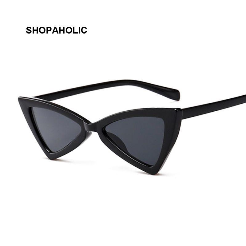 6fa416b33e5 Vintage Cat Eye Sunglasses Women Brand Designer Small Frame Sun Glasses  Retro Black Ladies Sunglass Oculos De Sol Eyewear Running Sunglasses  Sunglasses Case ...