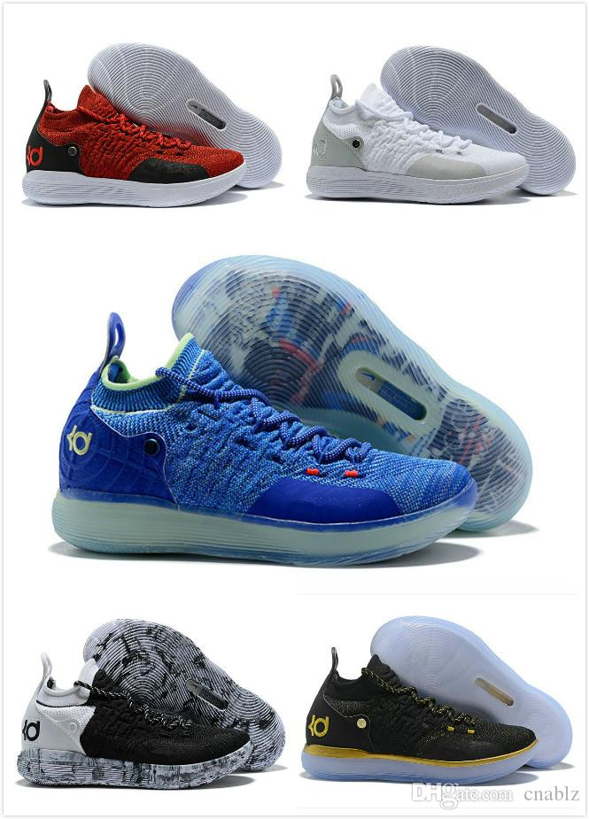 18cce975ddf0 KD XI 11 Oreo Paranoid Sports Basketball Shoes KD11 Kevin Durant 11s Mens  Trainers Designer Sneakers 7 11 Basketball Games Tennis Shoes From Cnablz