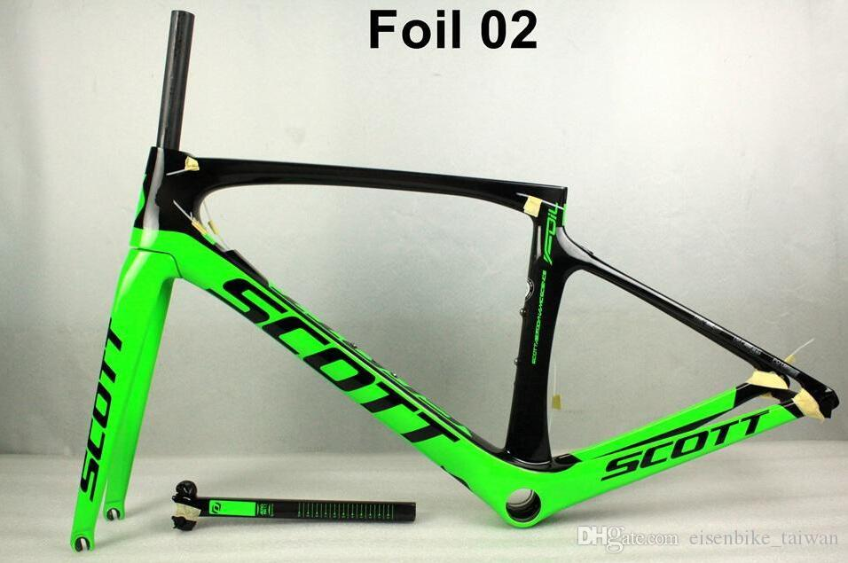 2018 High Quality Carbon Road Bike Frame T1000 Full Carbon Fibre ...