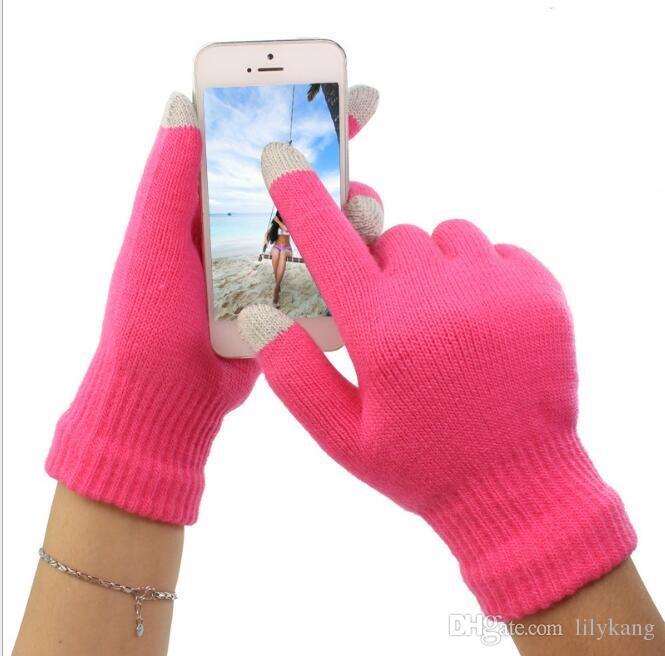قفازات لمس الشاشة قفازات الشتاء الدافئ الكبار الدراجات قفاز لمس الشاشة شاشة سحرية قفازات القيادة قفازات لمس ل الهاتف الخليوي