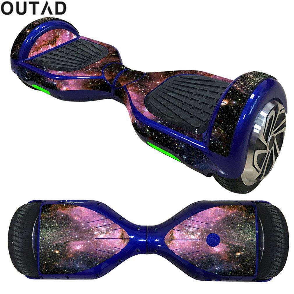 Outad 65 Zoll Selbstausgleich Roller Aufkleber Aufkleber Elektro Skate Board Aufkleber 2wheel Schutzhülle Fall Aufkleber