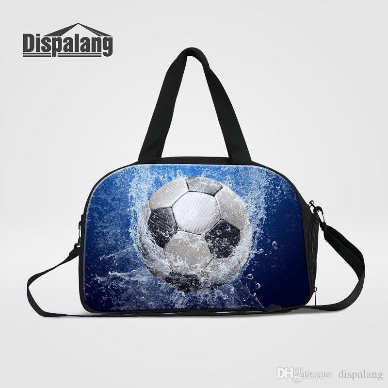 01b2272471 High Quality Canvas Luggage Handbag Men S Portable Sport Gym Travel Duffle  Bags Cool Basketball Football Weekend Bags For Students Overnight Duffle  Bags For ...