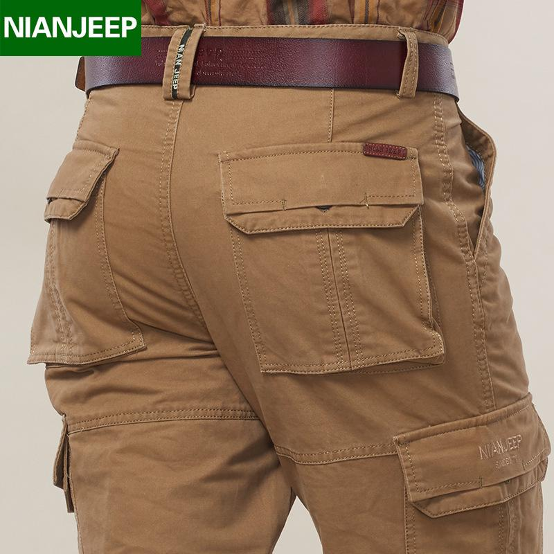 2019 NIAN Brand Clothing Full Length Men S Pants Spring And Autumn Cargo Pants  Plus Size 30 44 From Lemon888 e64bbfc97f65