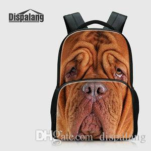 Cute Shaggydog School Backpacks For Children Animal Dog Printed Bookbags College Laptop Bagpacks Girls Rucksack Mochila Men Outdoor Knapsack