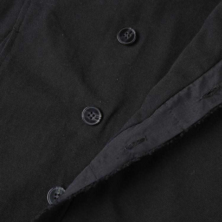 2018 Men washed European style short black suit jacket new design metrosexual man slim burr suit blazer fashion winter outwear