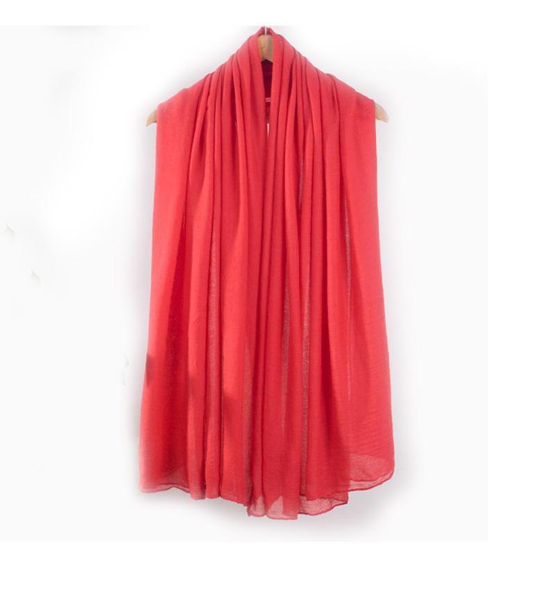 Autumn New Black Women Cotton Shawl Scarf Europe America Brand Pashmina Wrap Solid Color Muffler Ultra Long Cape NS101