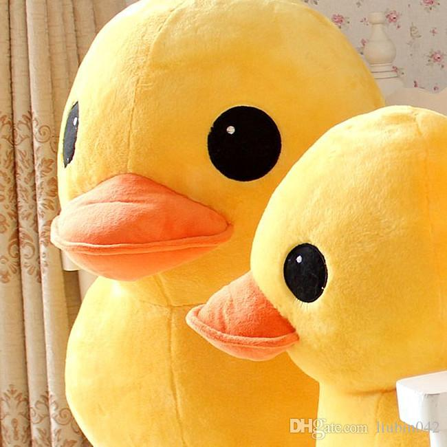 20170633 Hong Kong Rhubarb Duck Doll Cute Pillow Stuffed Animals PP Cotton Plush Toys Children's Day Gifts Birthday Present