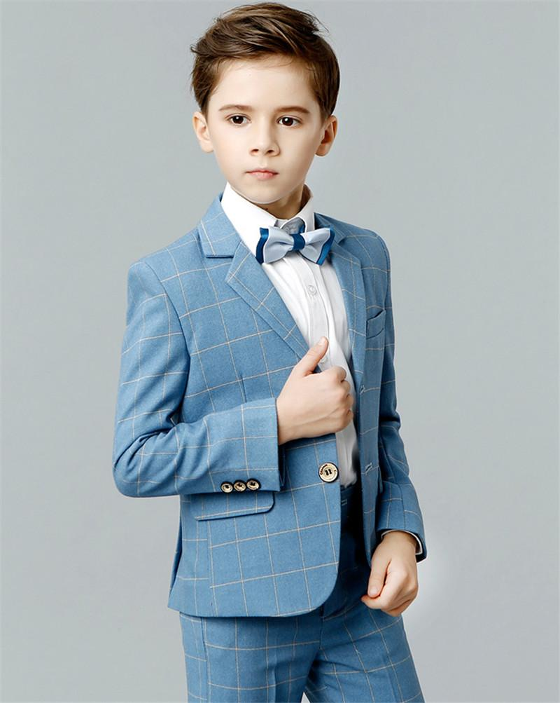 Boys Suits Performance Gengtleman Style Formal Suits for 3-12 Years ...