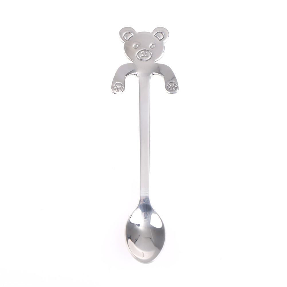 Acquista cm cartone animato orso panda cucchiaini caffè in