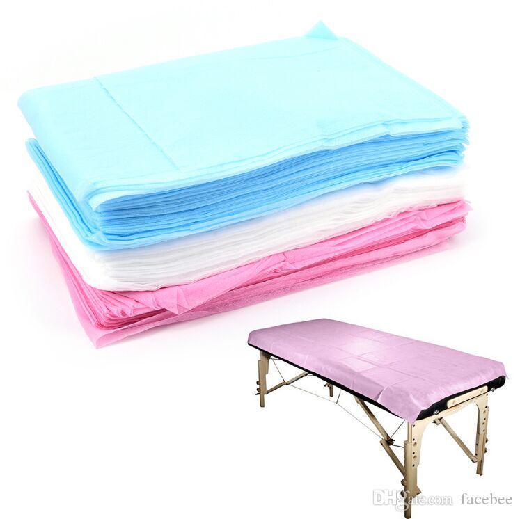 Médicaux jetables massage spécial non-tissé Lit Pad Beauty Salon SPA Lit dédié Fiche 80 * 180cm