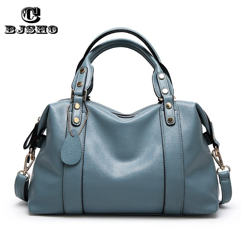 460f5d78b CBJSHO Larger Top Handle Bags Fashion Female Handbags Casual Tote PU Leather  Travel Shoulder Bags Women Messenger Bag Zipper Reusable Shopping Bags  Rosetti ...
