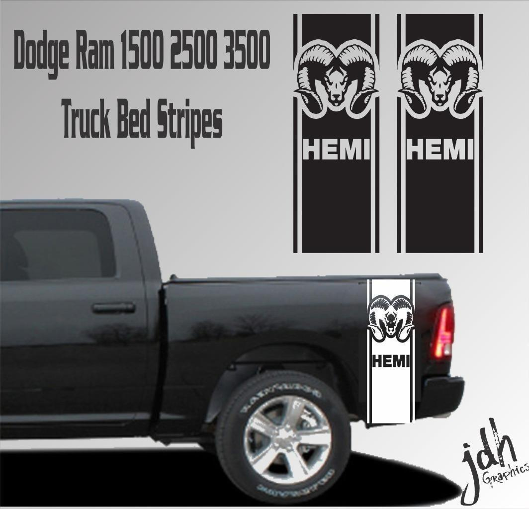 2019 for dodge ram 1500 2500 3500 truck bed stripe vinyl decal sticker hemi 4x4 racing from redchinatown 10 05 dhgate com