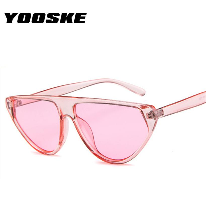 36c17fccec YOOSKE Oversized Sunglasses Men Sexy Cat Eye Sun Glasses Ladies Vintage  Cateye Eyewear Shades For Women D18102305 Best Sunglasses Dragon Sunglasses  From ...