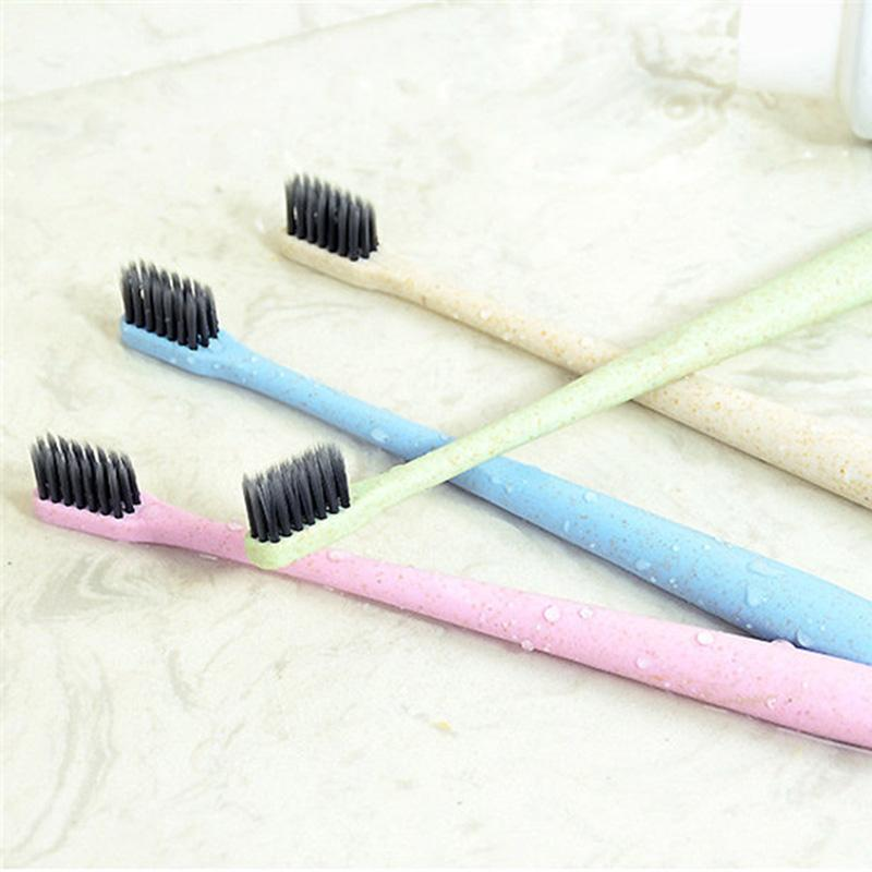Tooth Whitening Nature Bamboo Activated Charcoal Smile Powder Decontamination Tooth Yellow Stain Bamboo Toothbrush Oral Care 3006006
