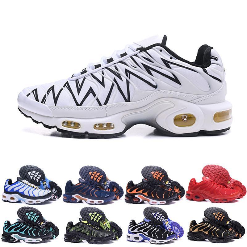 Nike TN PLUS Airmax Air Max corrientes de los hombres zapatos de TN Venden como los pasteles calientes aumentan la ventilación de la moda zapatos