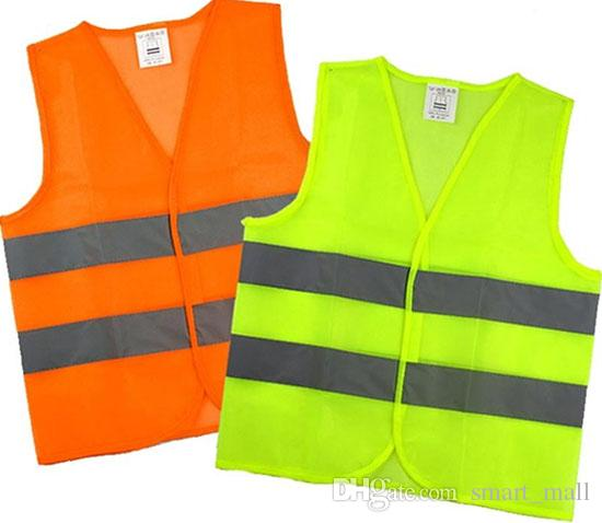 Free DHL High Visibility Security Safety Vest Jacket Reflective Strips Work  Wear Uniforms Clothing LLFA Best Hi Vis Jacket Best Security Uniforms From  ... aa3d86f326f