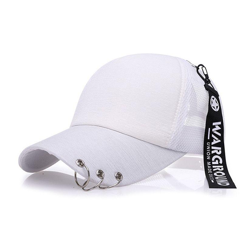 20de0598f9b New Snapback Fashion Iron Ring Blank Hats Baseball Caps For Men Women  Sports Hip Hop Cap Brand Sun Hat Gorras Wholesale Men Designer Hats Hat  Stores Custom ...