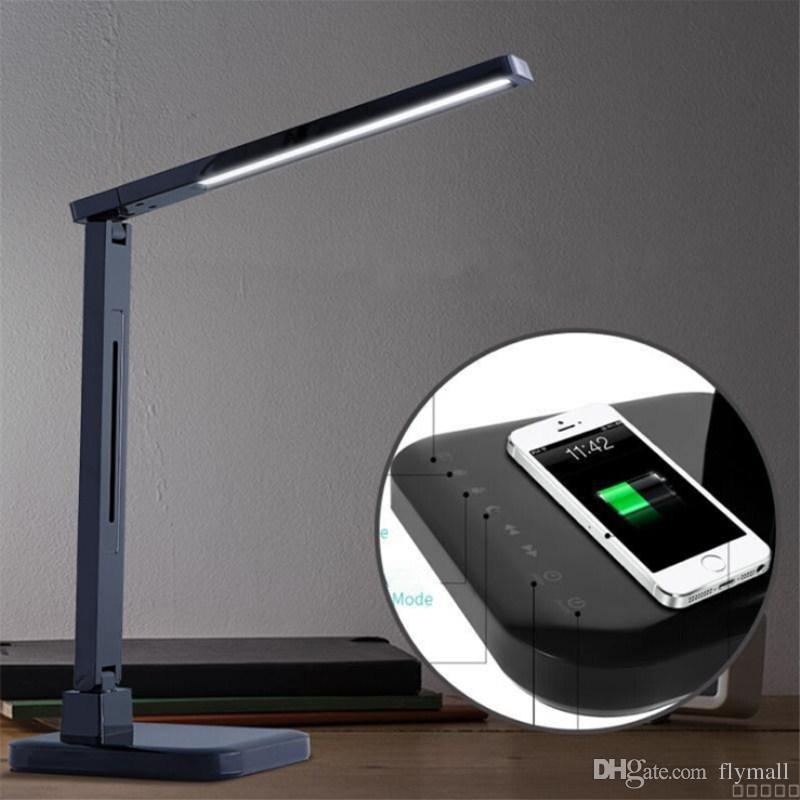 Avec Fil Led Iphone Couleurs Lampe Sans Nokia Usb Pliante Samsung Chevet Modes 4 De Pour Bureau Htc Dimmable Charge dhrsQCt