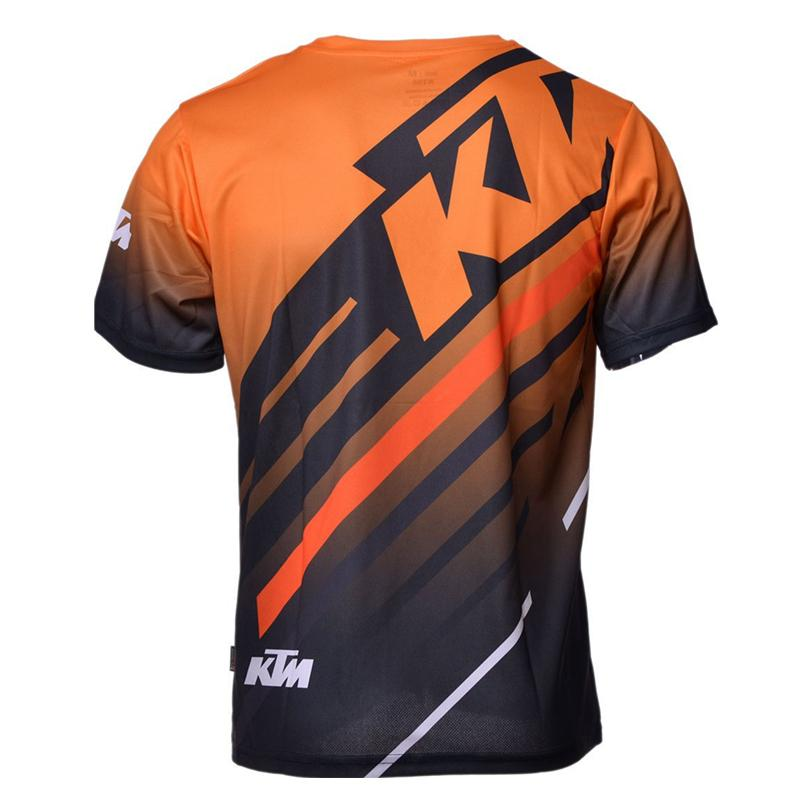 Free shipping Motocross For ktm Jerseys bike Racing Motorcycle Bicycle Sleeve T-shirt Cycling MTB DH MX Motor QUICK-DRY Short