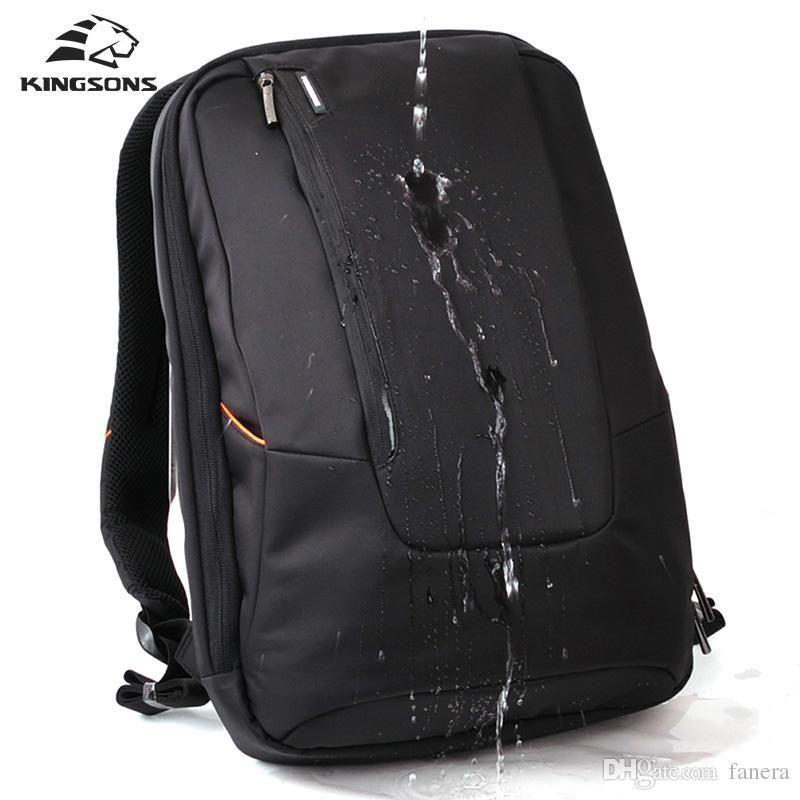 567cad60e4a4 Wholesale- Kingsons Brand Waterproof Men Women Laptop Backpack 15.6 ...