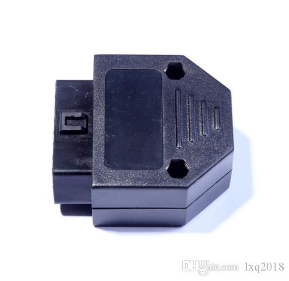 OBD2 OBDII 16 핀 여성 커넥터 어댑터 키트 나사 진단 도구