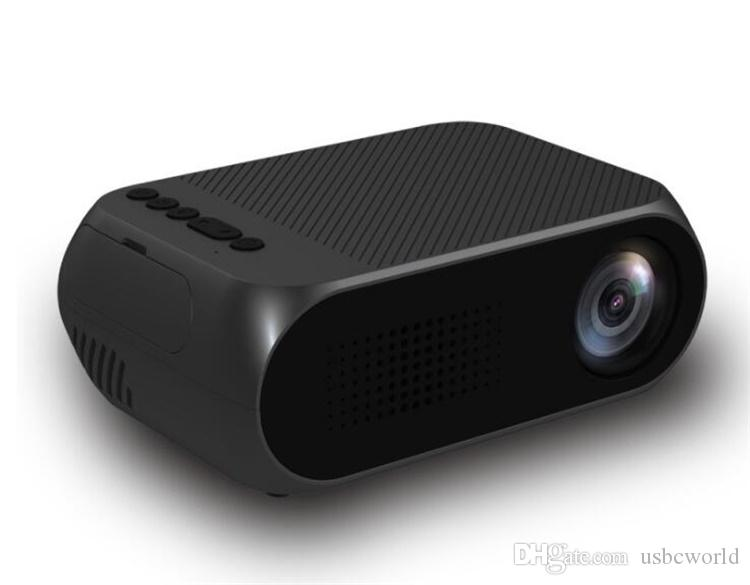 Portable LED Mini Projector Home Theater Cinema 1080P Video HDMI USB Pocket Proyector Built-in Speaker