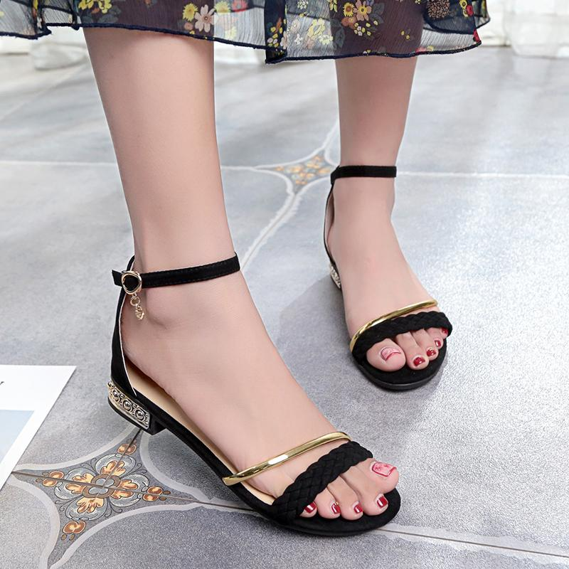 df88c2b107c3a7 2018 New Women Shoes Bohemia Style Ankle Strap Flip Flops Summer Flat Shoes  Woman Ladies Shoes Women Sandals Pink Shoes Salt Water Sandals From  Shoes8800