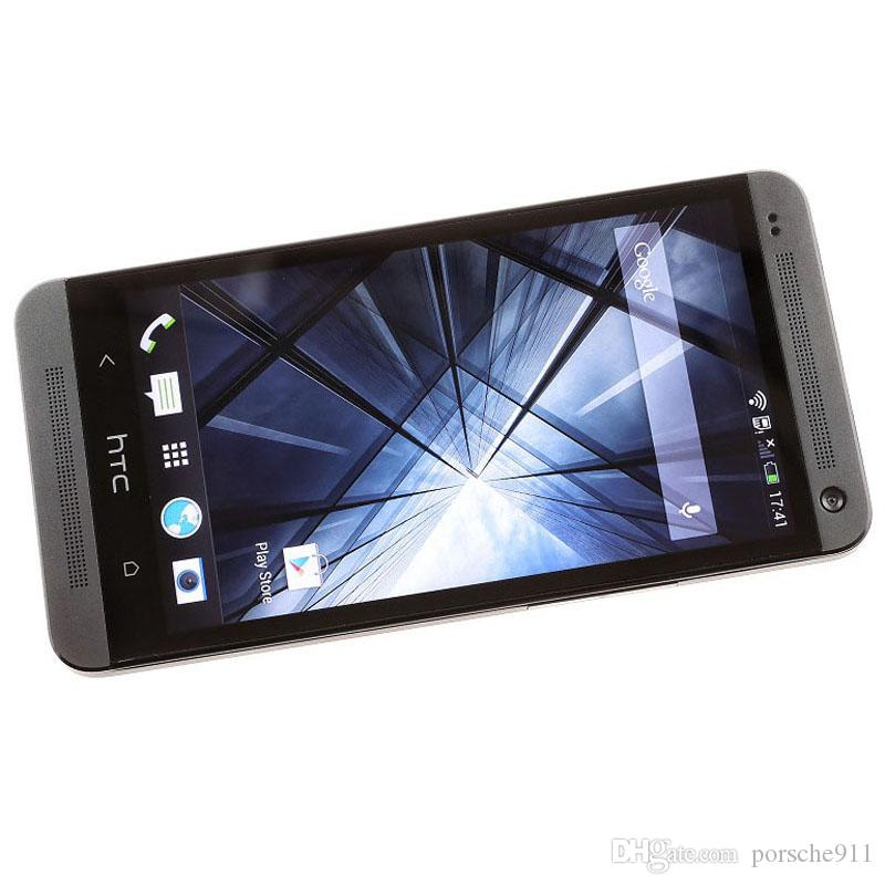 Original Refurbished Unlocked HTC ONE M7 Mobile Phone Quad Core 4.7 inches Touch Screen 2GB RAM 32GB ROM WIFI Android Smart Phone