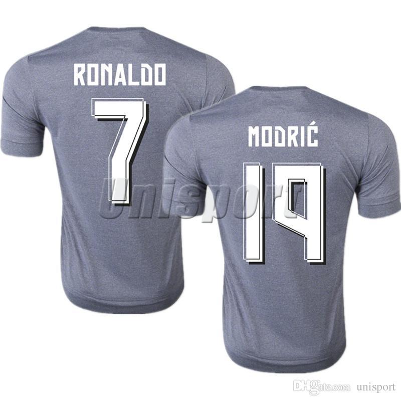 2019 2015 16 Real Madrid Away Soccer Jerseys Ronaldo Isco Modric Futbol  Camisa Football Camiseta Shirt Kit Maillot From Unisport bc5eb94540334