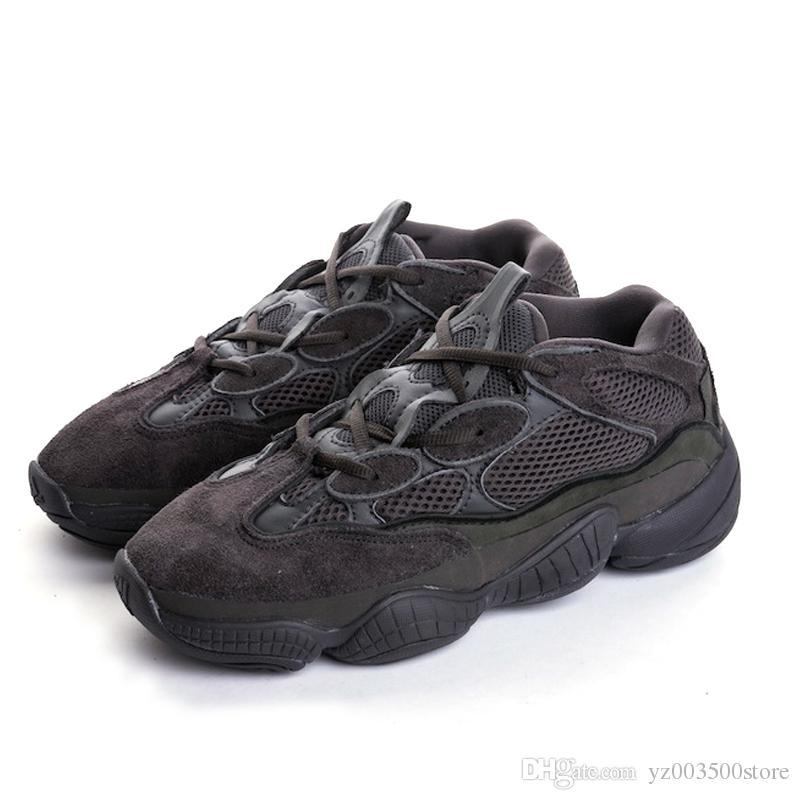 outlet store f9c39 31535 Compre Adidas Yeezy 500 Superior Super Moon Yellow 500 Zapatos Blush Zapatos  De Diseñador Zapatos Corrientes Para Hombre Botas Deportivas Para Hombres  ...