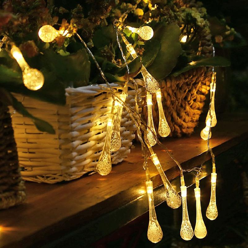 Led string lights outdoor warm white fairy light holiday light for led string lights outdoor warm white fairy light holiday light for party wedding decoration multicolor christmas lights garland led string lights outdoor aloadofball Choice Image