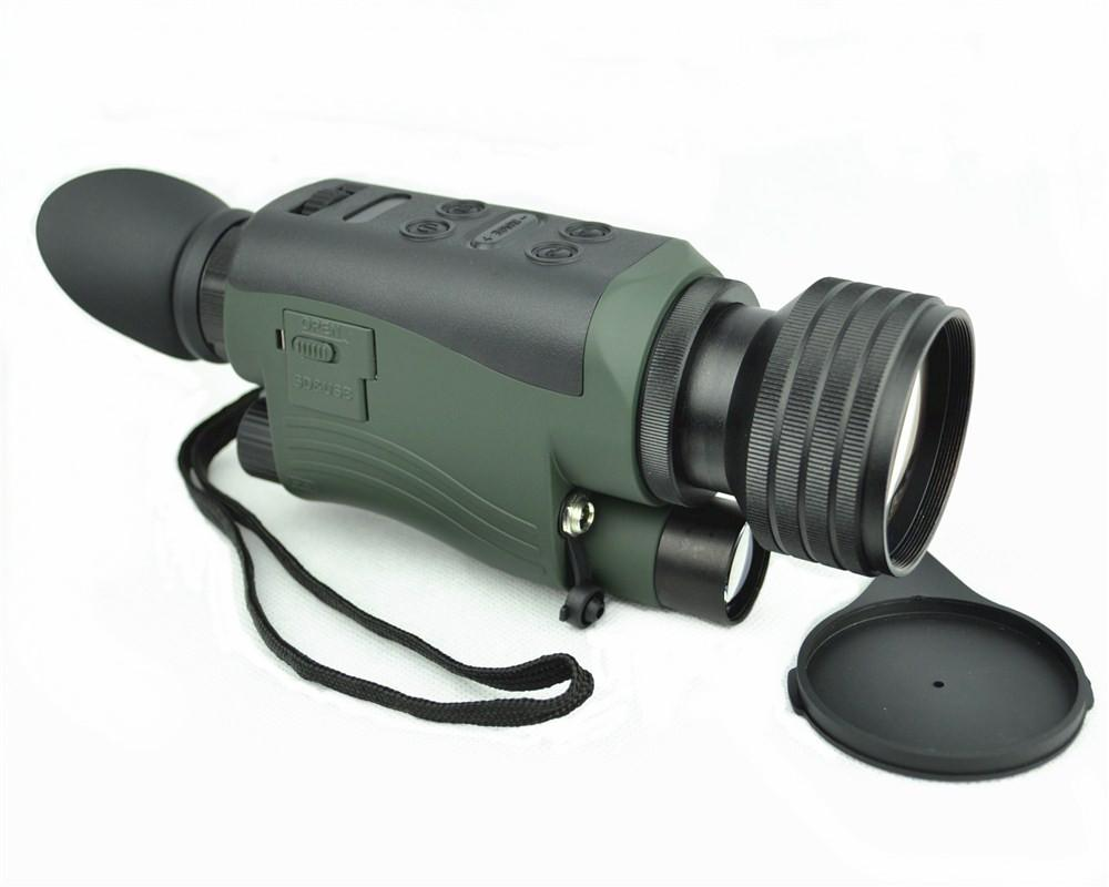 Digital night vision camera monocular telescope can be used in