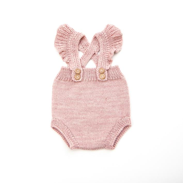 Hot Sale Spring Autumn Newborn Strap Bodysuits Knitwear Jumpsuits Baby Girls Clothing Sleeveless Knitted Sweater Infant Rompers Baby Clothes
