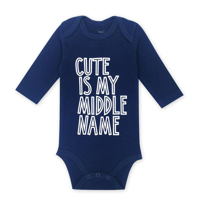 2019 Baby Bodysuits Cotton Baby Girls Boy Clothing Long Sleeves O