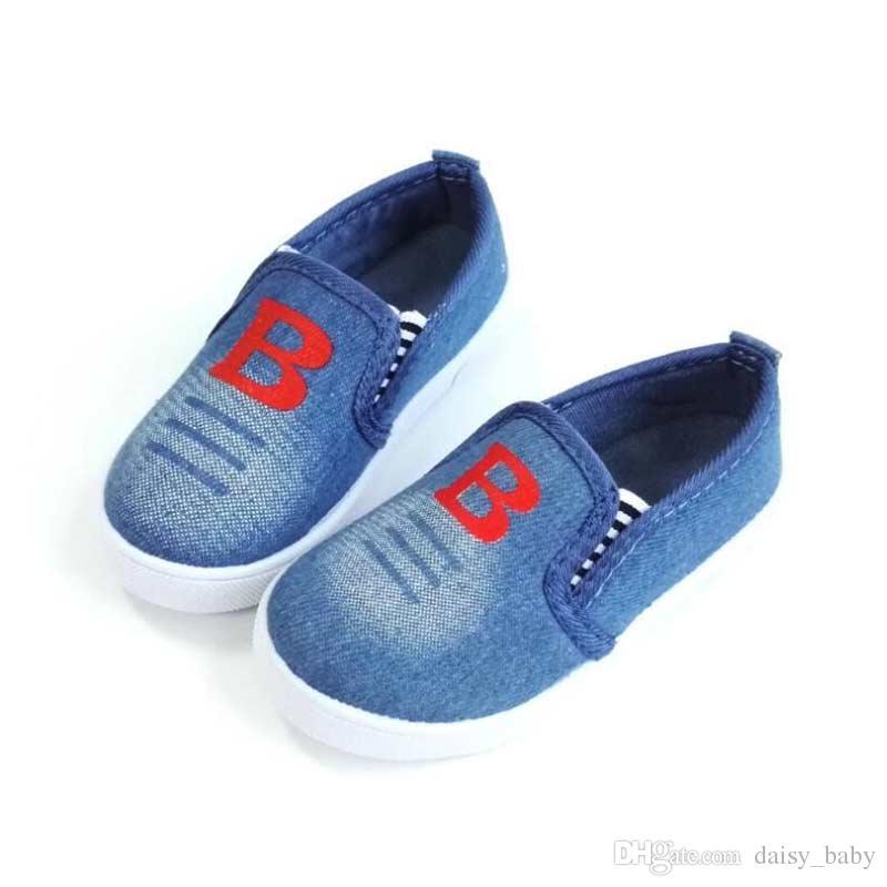 89c574b42 Compre Zapato De Lona Unisex Para Niños Zapatos Casuales Para Niños  Muchachas De Moda B Estampados Zapatos Deportivos Zapatillas De Escuela Para  Niños Kids ...