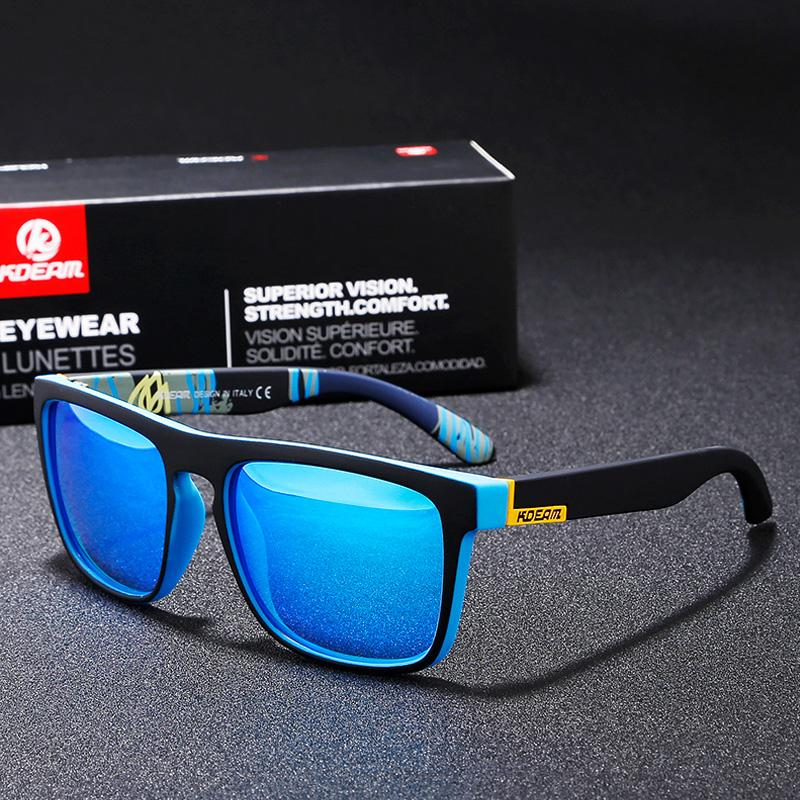 2d9e66491 KDEAM Fashion Guy's Sun Glasses From Kdeam Polarized Sunglasses Men Classic  Design All-Fit Mirror Sunglass With Brand Box R8805