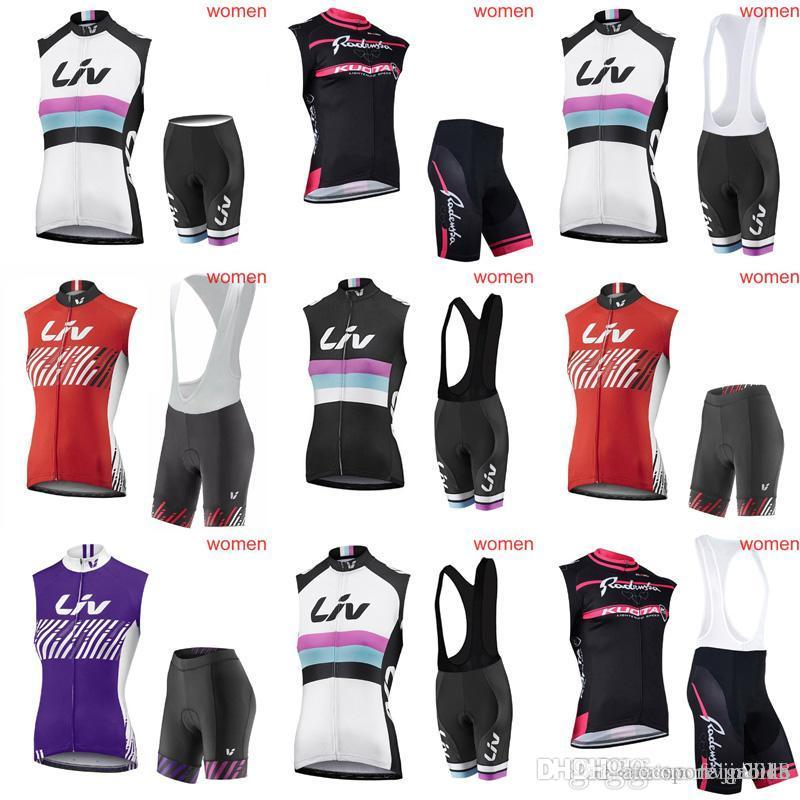 acc0b25c9 KUOTA LIV Team Cycling Sleeveless Jersey Vest Bibshorts Sets New Breathable Jersey  Suit Women Summer Bike Sweatshirt C2209 KUOTA Cycling Jersey Mtb Jersey ...