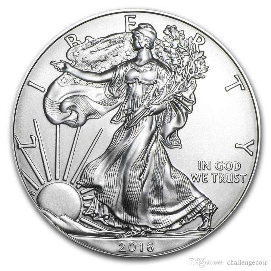 The sample order,Free Shipping 2016 1 oz Silver American Eagle Coins + 2016 the statue of liberty sliver coin