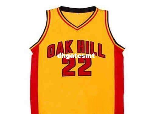 23c85b419897 2019 Cheap Mens CUSTOM OAK HILL High School JERSEY CARMELO ANTHONY NEW ANY  NAME