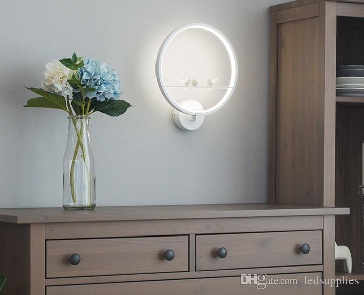 Acquista camera da letto della lampada da parete creativa della