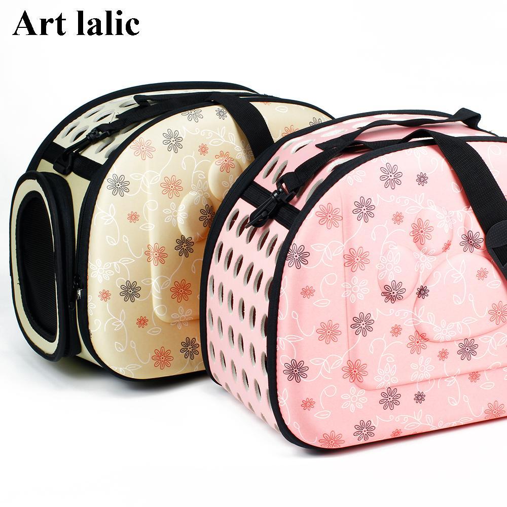 Foldable EVA Pet Carrier Puppy Dog Cat Outdoor Travel Shoulder Bag ... 85559989b8256