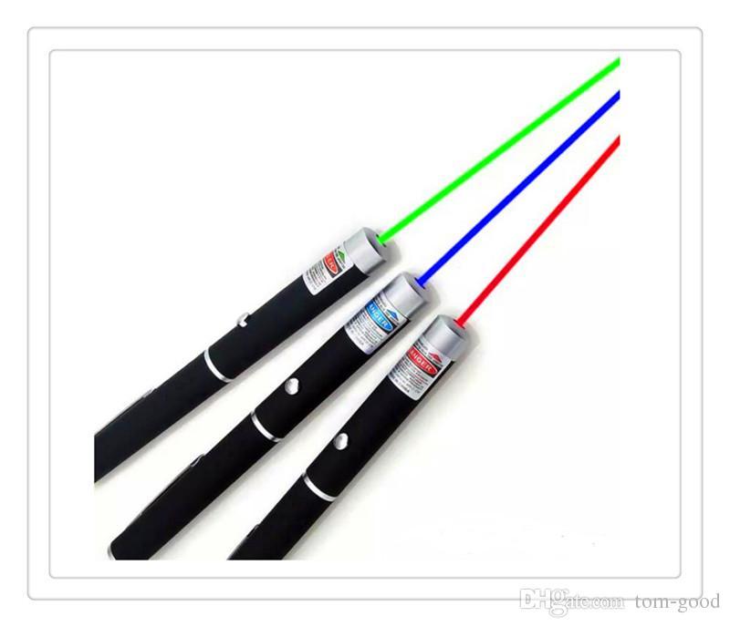 5 МВт высокой мощности зеленый синий красный лазерная указка ручка 532 нм-405 Нм видимый луч света мощный Лазерная Бесплатная доставка