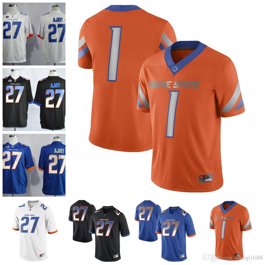 8b68bd9ddd8 2019 Custom Boise State Broncos College Football #27 Jay Ajayi White Orange  Black Blue Personalized Any Name Number Stitched NCAA Jersey From  Cheap1688, ...